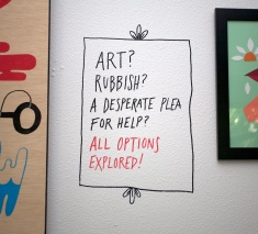 Art? Rubbish?