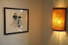 Blanket + Lamp